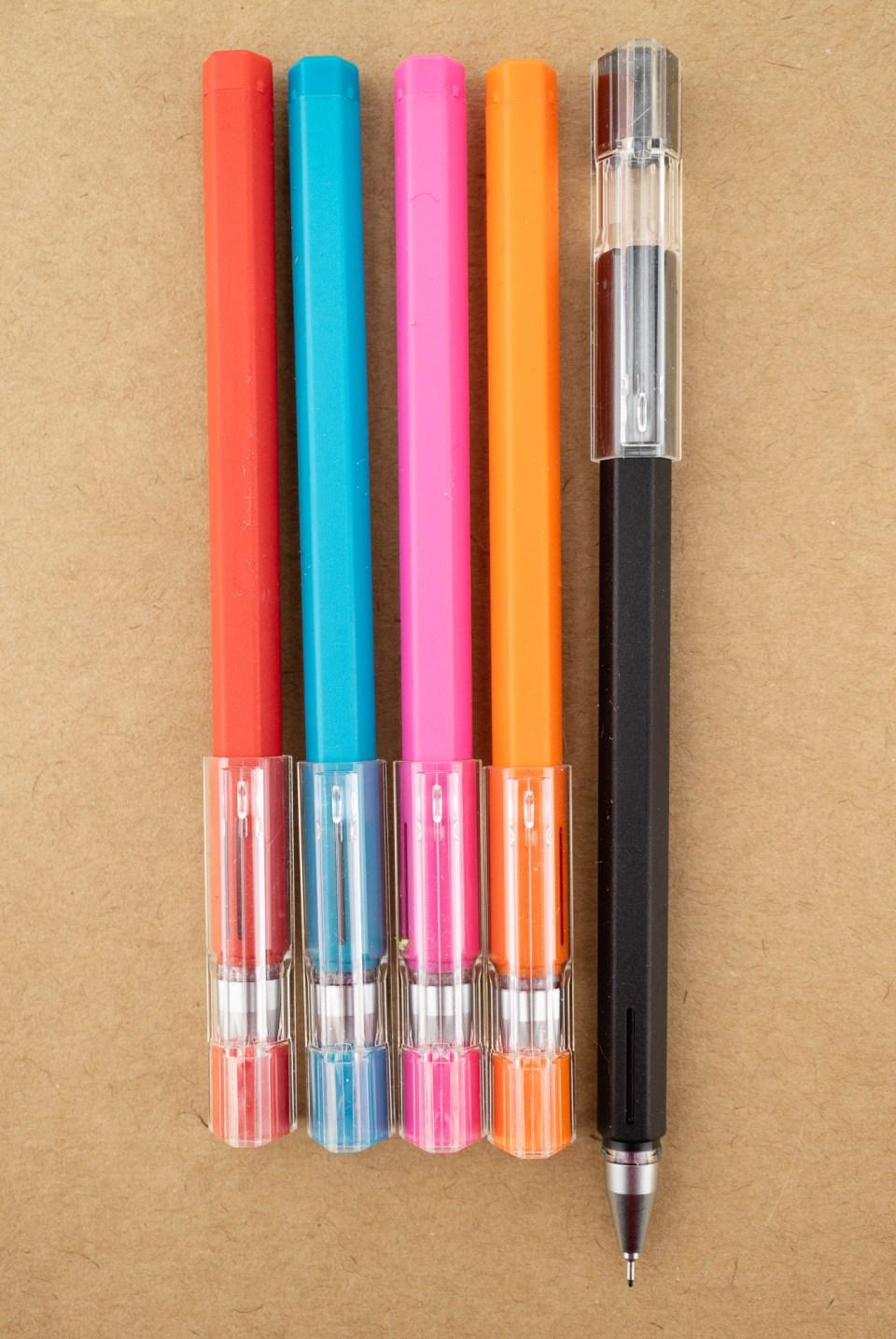 Muji Gel Pens 0.25mm