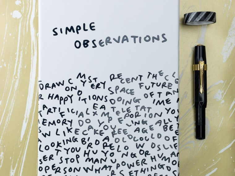 Product Release: Baron Fig Simple Observations Notebook