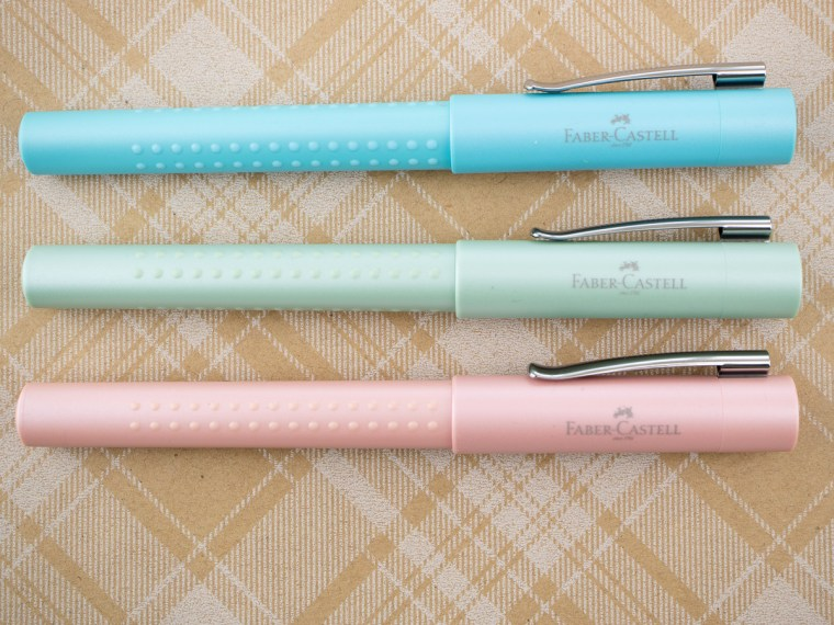 Giveaway Winners: Faber-Castell Grip Fountain Pens