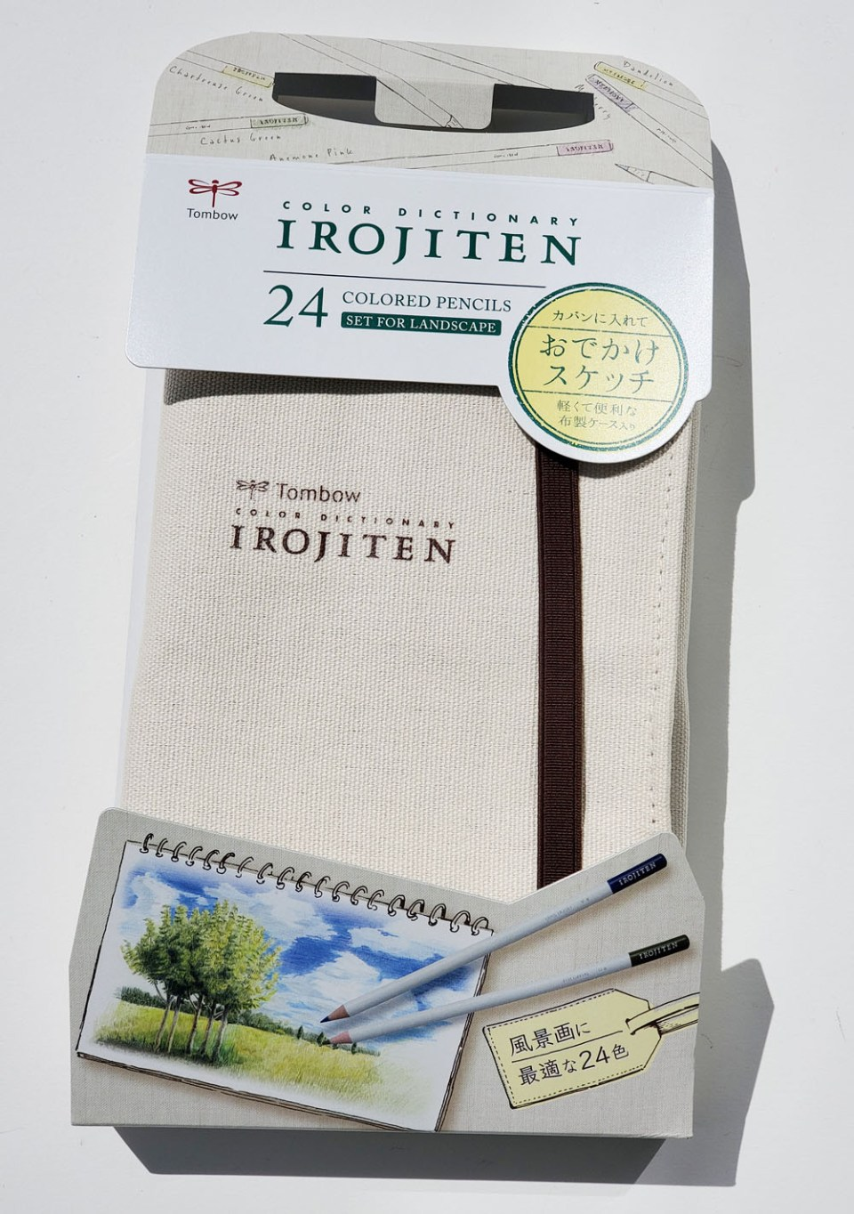 Irojiten case and packaging