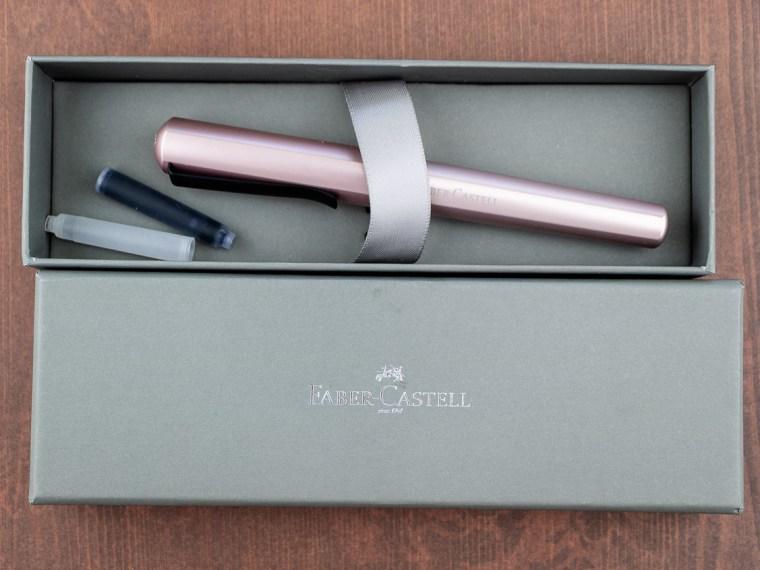 Fountain Pen Review: Faber-Castell Hexo Rose Gold (Medium Nib)