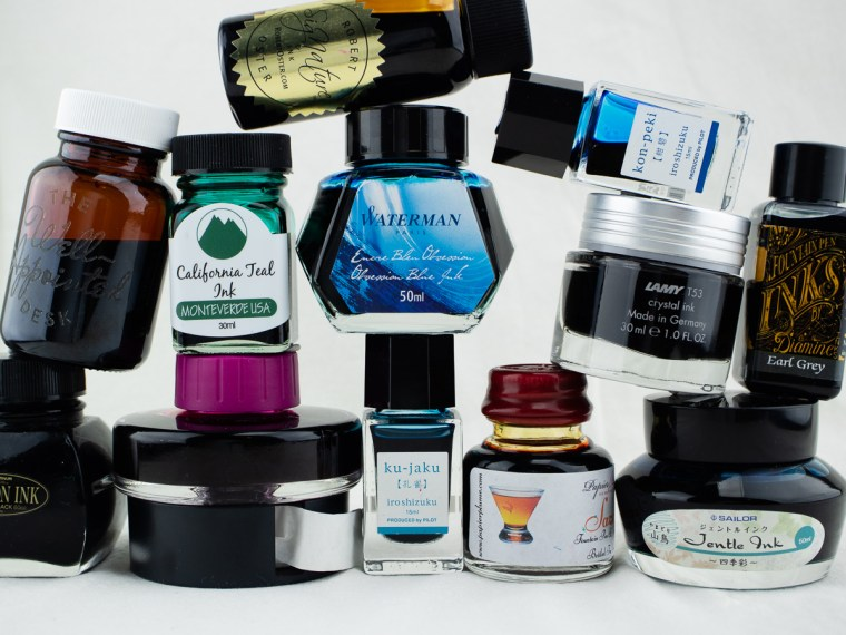 MORE Than Top Ten Fountain Pen Inks