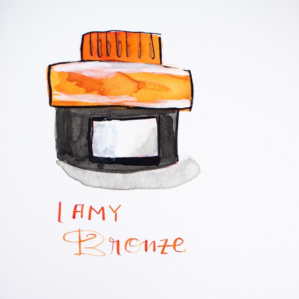 Lamy Bronze drawing