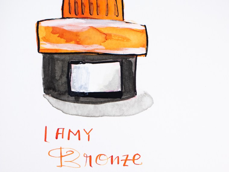 Ink Review: Lamy Bronze