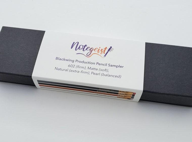 Pencil Review: A Taste of Blackwing Sampler Set