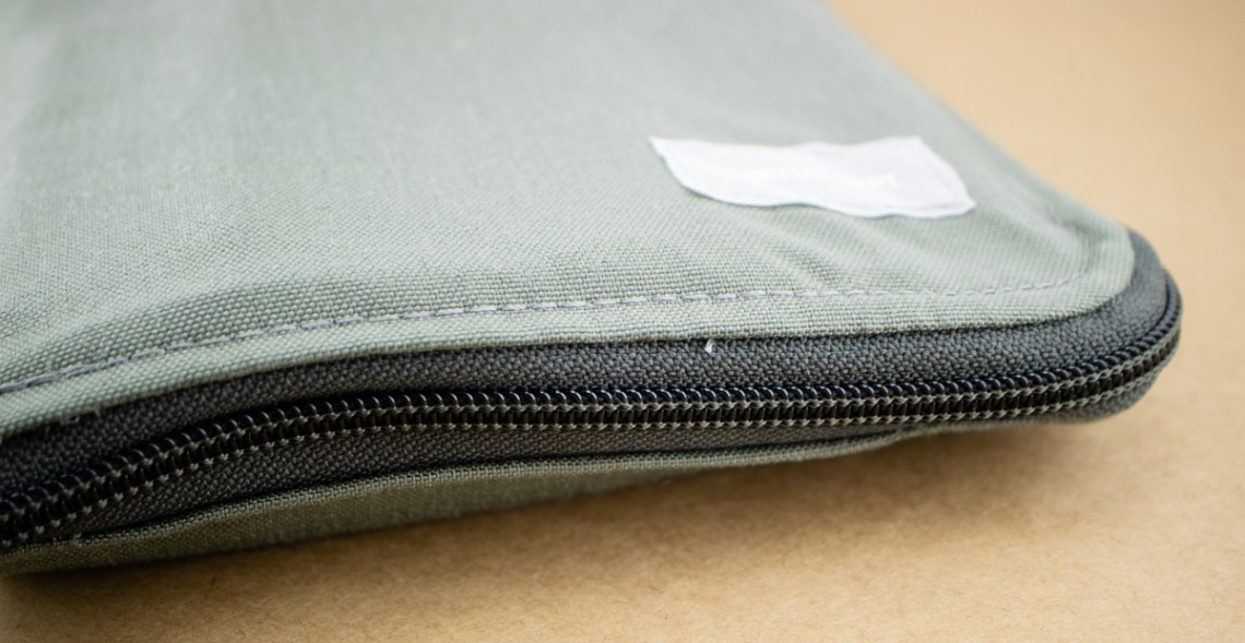 Formal Dept Notebook Case zipped closed