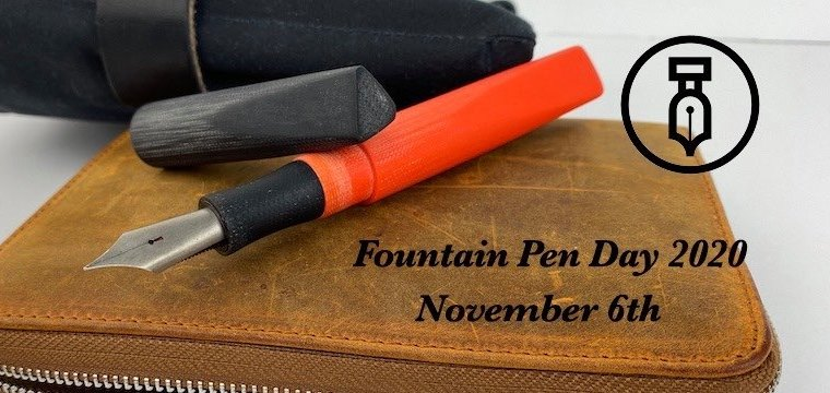 Fountain Pen Day 2020 + Giveaway