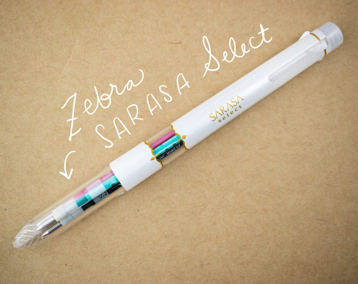 Zebra Sarasa Select