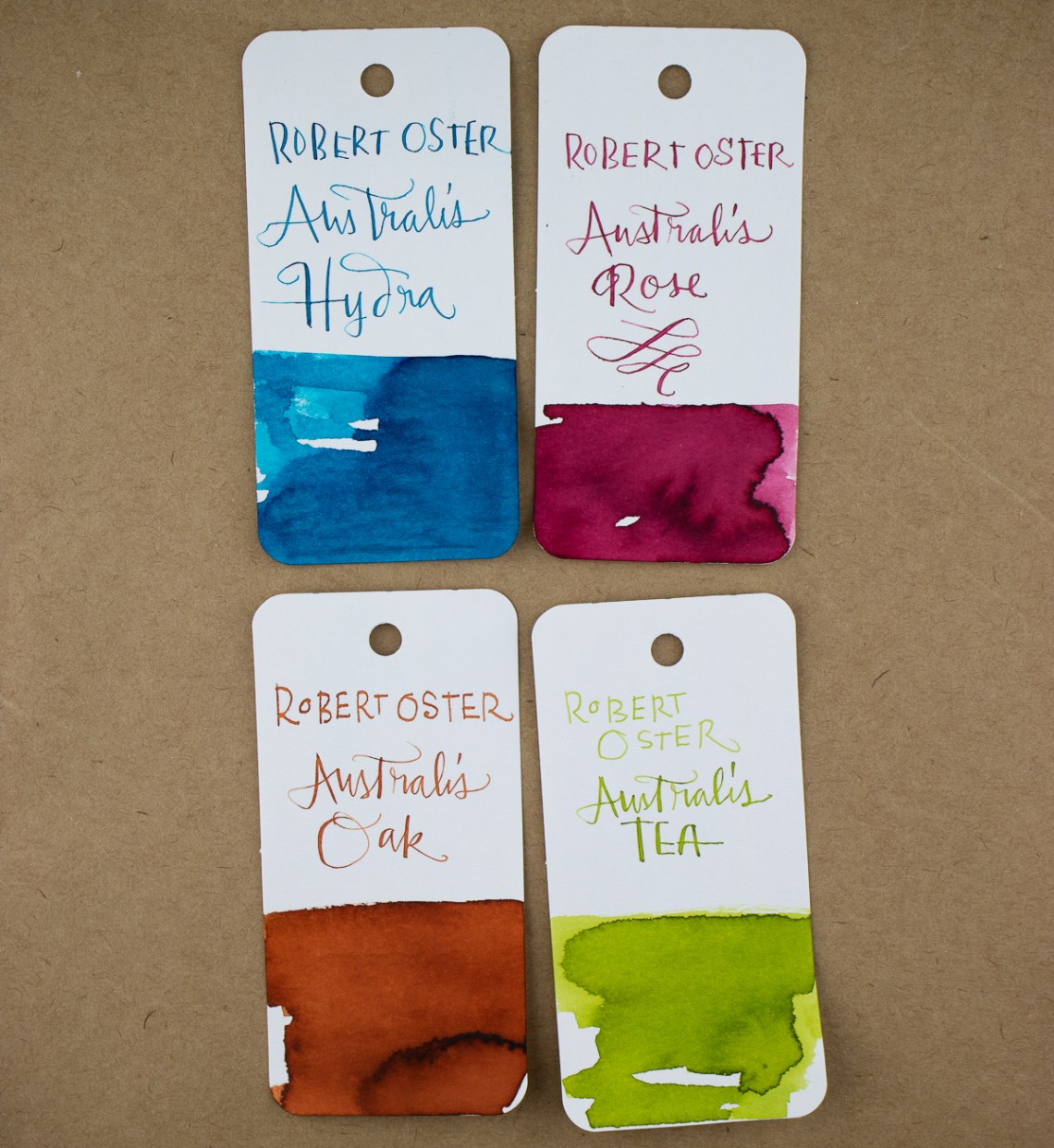 Robert Oster Australis Ink Collection