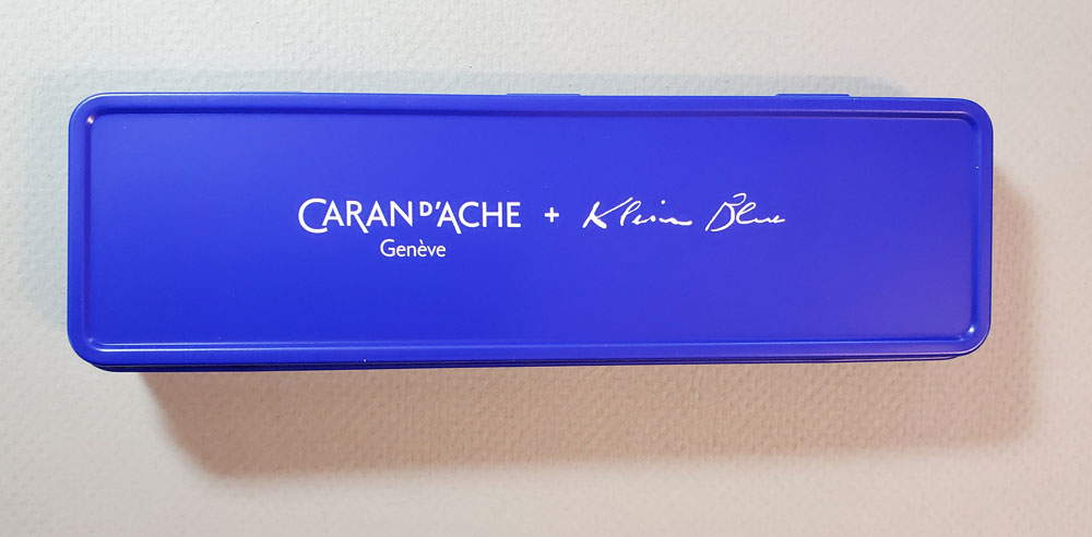 Cd'A Fixpencil Klein Blue tin lid