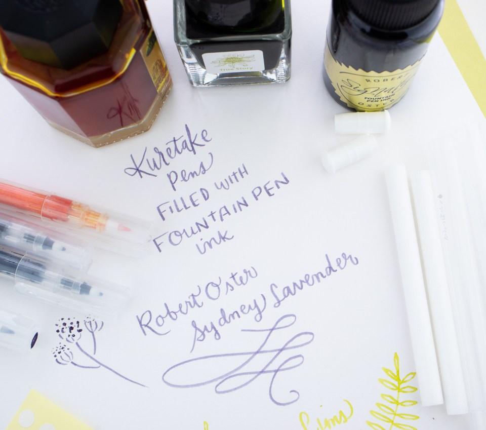 Kuretake Karappo Empty Pens