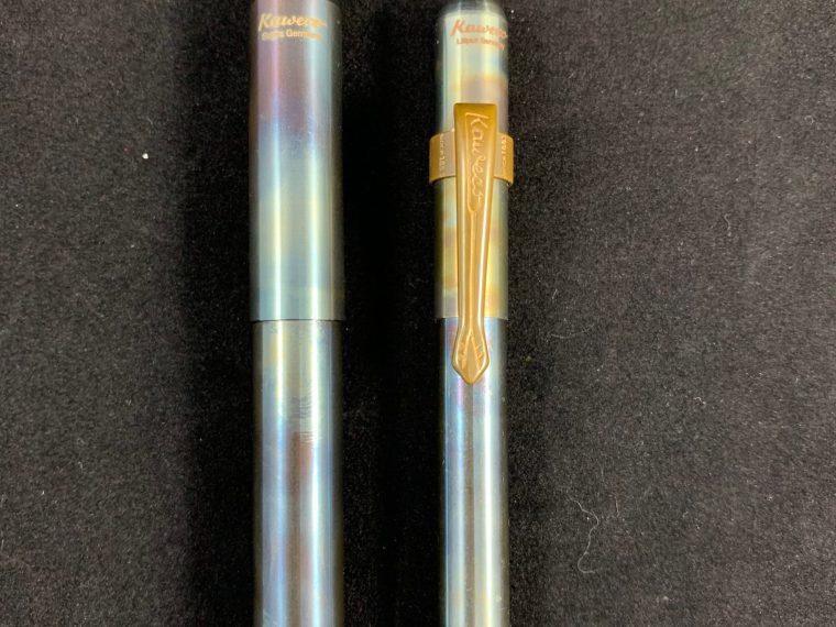 Fountain Pen Review: Kaweco Supra Fire Blue