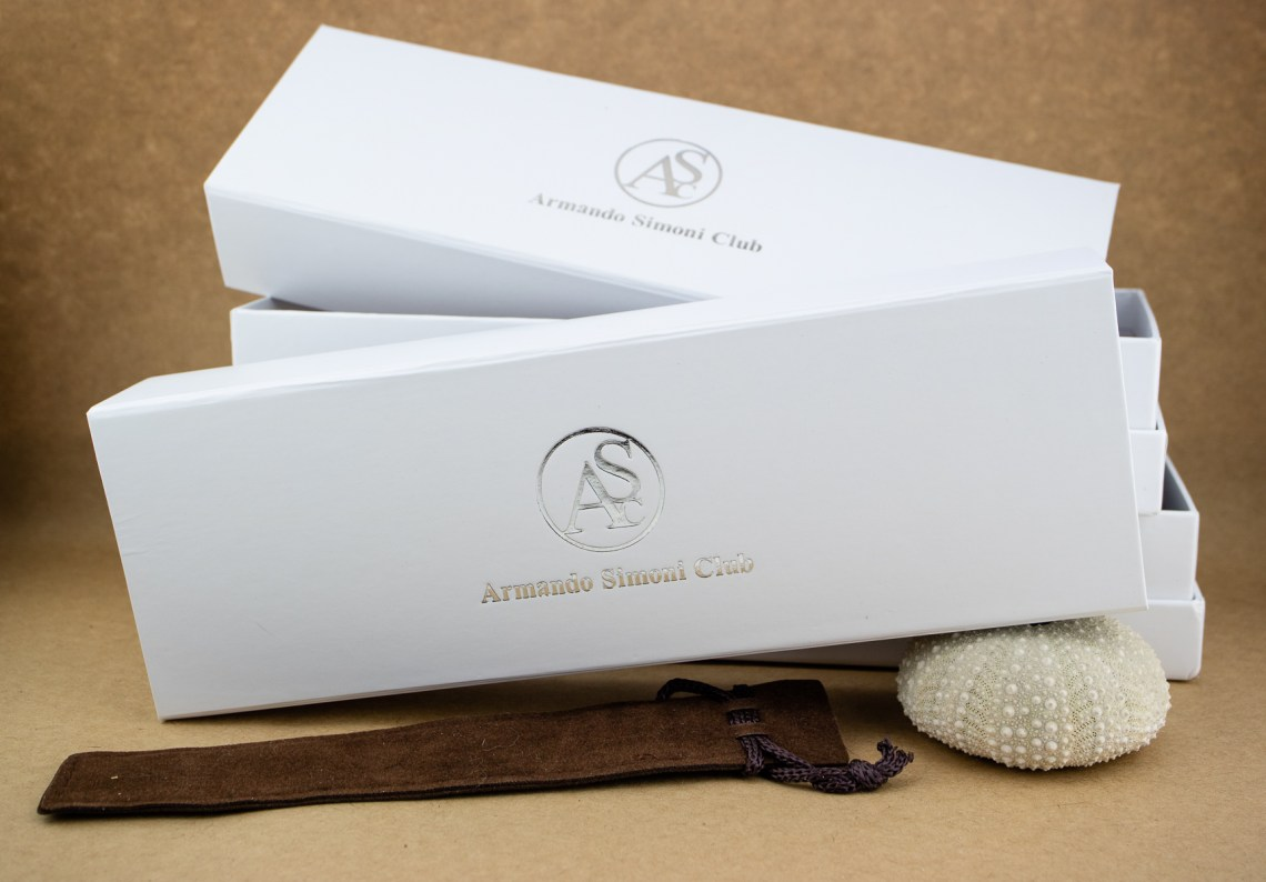 ASC Bologna Wild Celluloid Fountain Pen Packaging