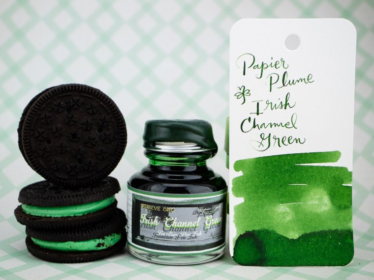 Ink Overview: Papier Plume Irish Channel Green