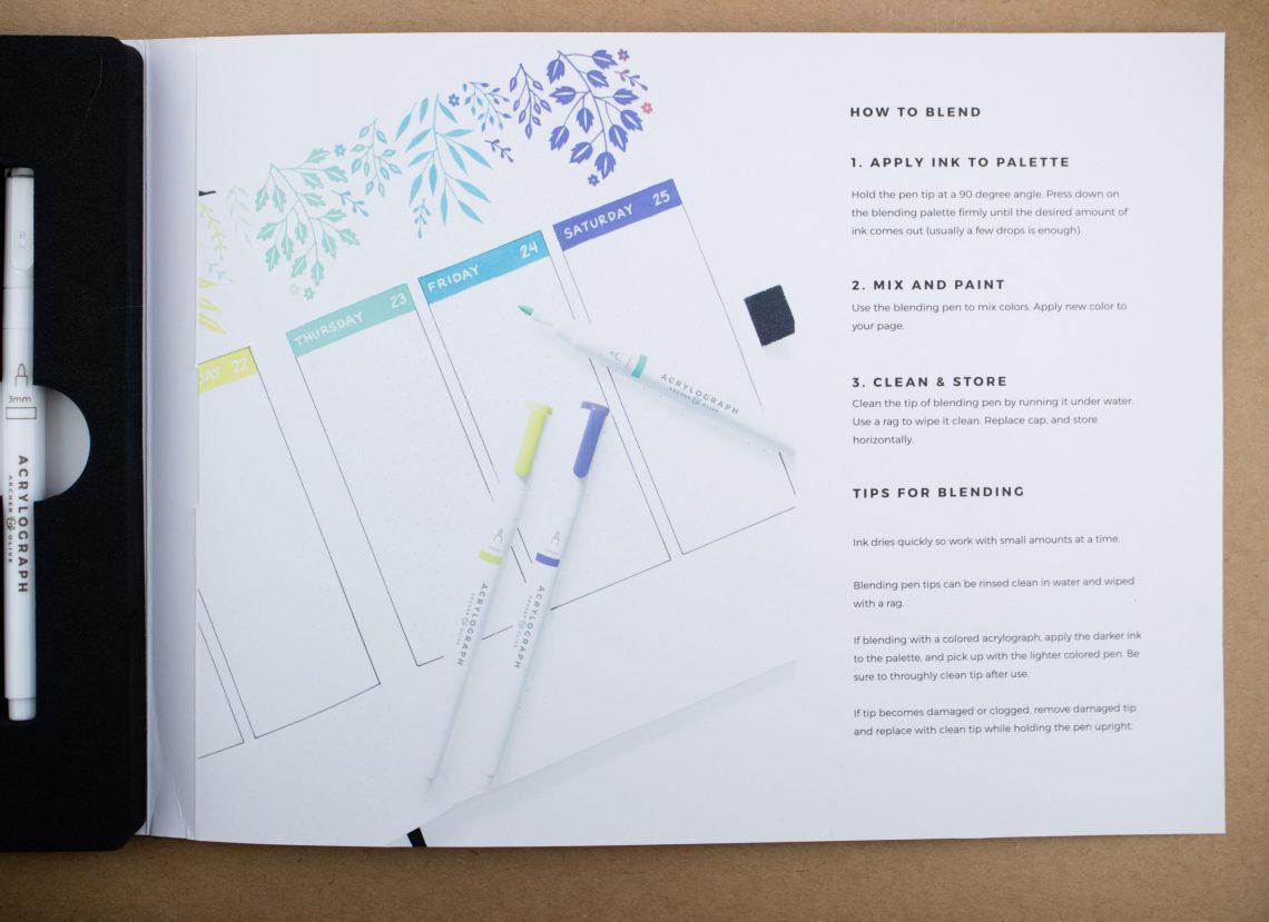 Archer & Olive Acrylograph
