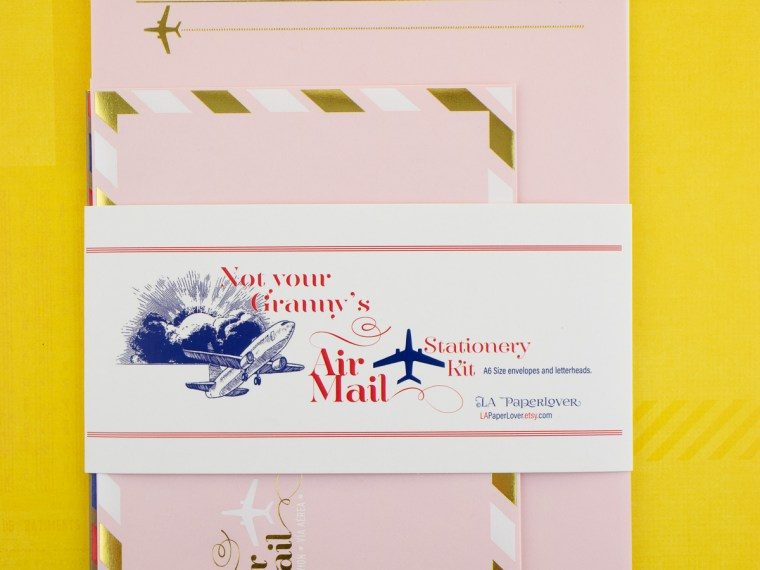 Stationery Overview: LA Paper Lover Snail Mail Kits