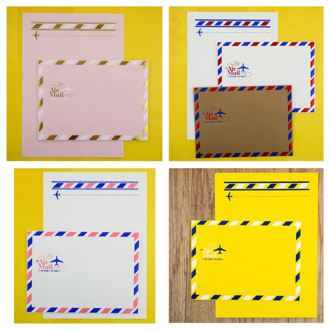 LA Paper Lover Air Mail Snail Mail Kit