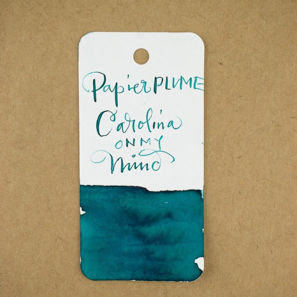 Papier Plume Carolina on my Mind