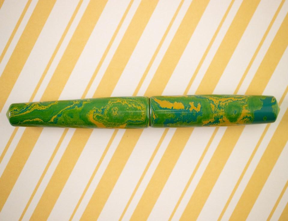 Fountain Pen Review: Ranga Abhimanyu Premium Ebonite