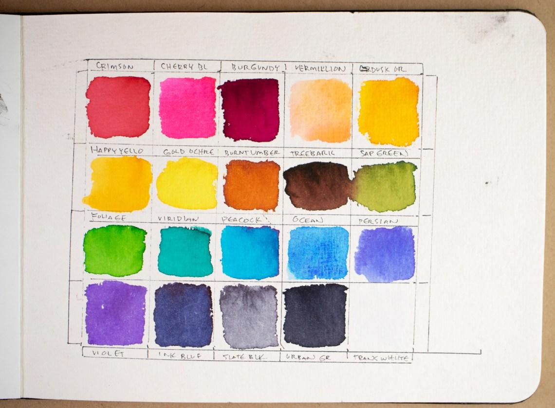 Viviva Colors A5 cotton Sketchbook