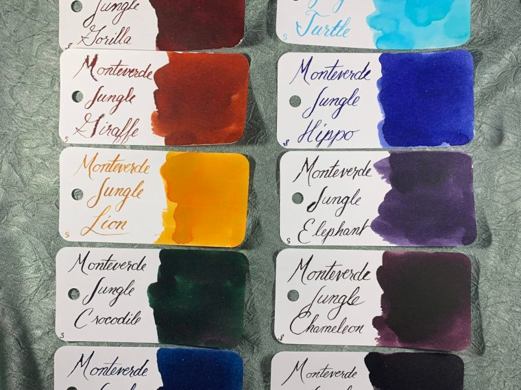 Ink Series Review: Monteverde Jungle Collection