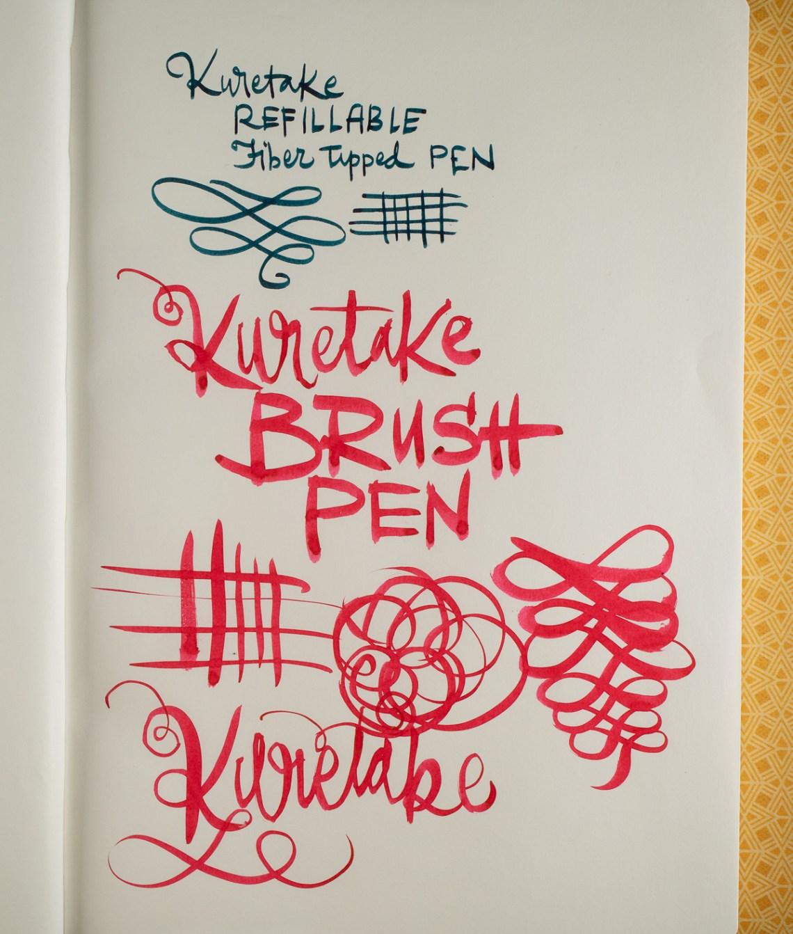 Kuretake Karappo Empty Brush Pens