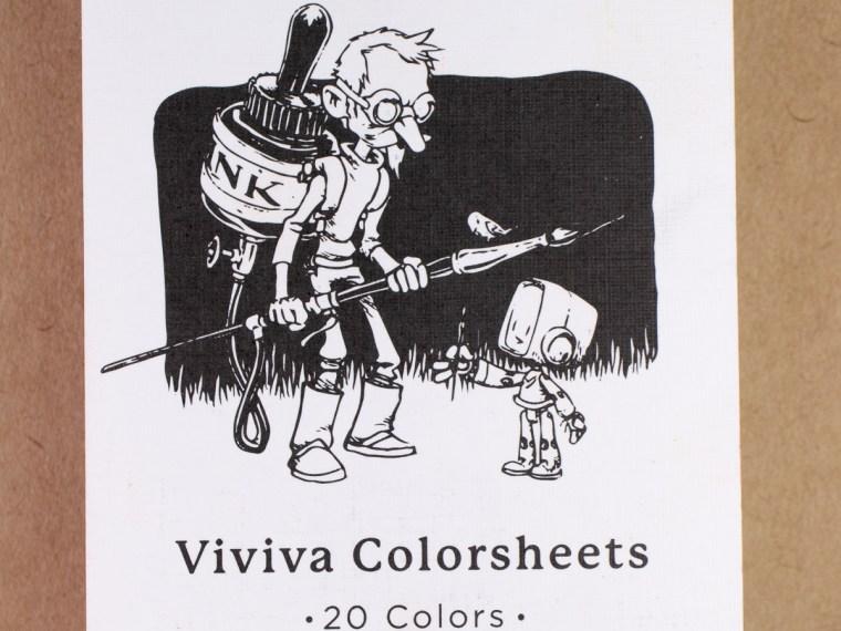 Art Supplies: Viviva Colorsheets