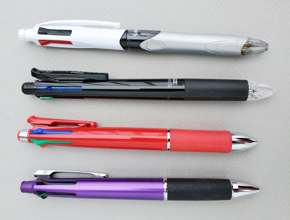 2 - 4 multi pens