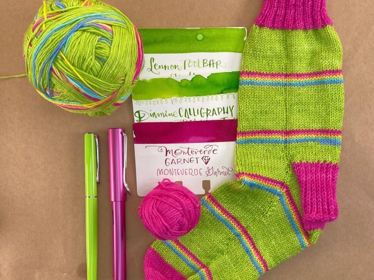Yarn + Ink: Sour Skittles