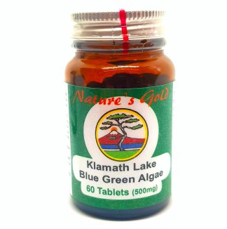 Nature's Gold Klamath Lake Blue Green Algae 60 tablets