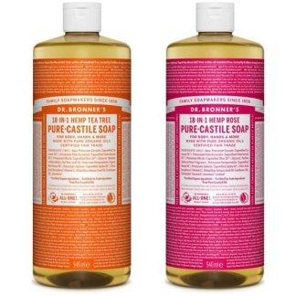 Dr Bronners Pure-Castile Liquid Soap