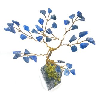Dumortierite Gem Tree small