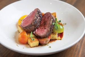 Roasted Duck Breast with Sweet Potatoes