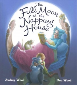 *full moon at the napping house
