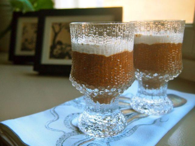 Suklainen mokkavanukas chiasta