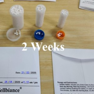 2 Weeks of Homoeopathic Treatment