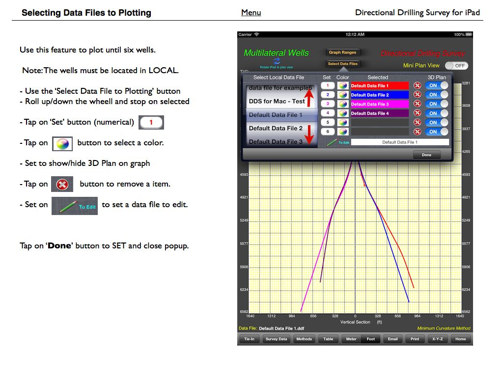Directional Drilling Survey for iPad - User Guide