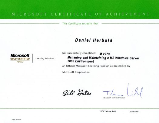 Microsoft Schulung: Windows Server