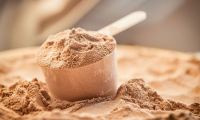brown protein powder
