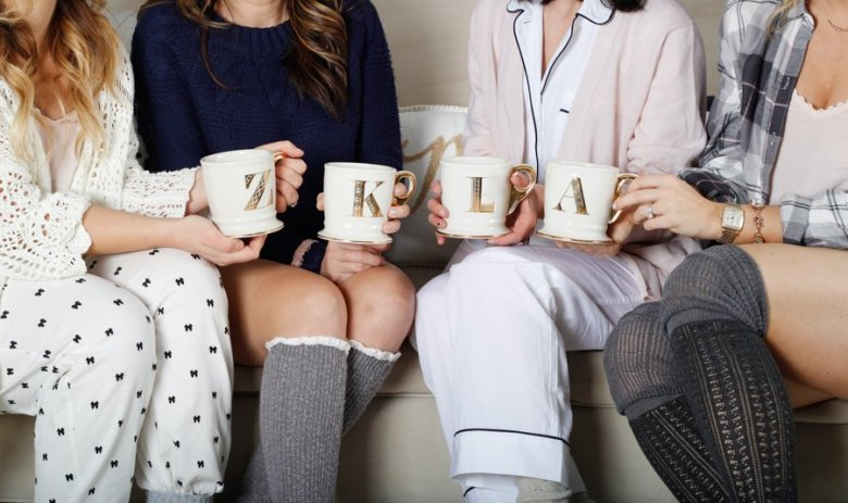 blogger pajama party