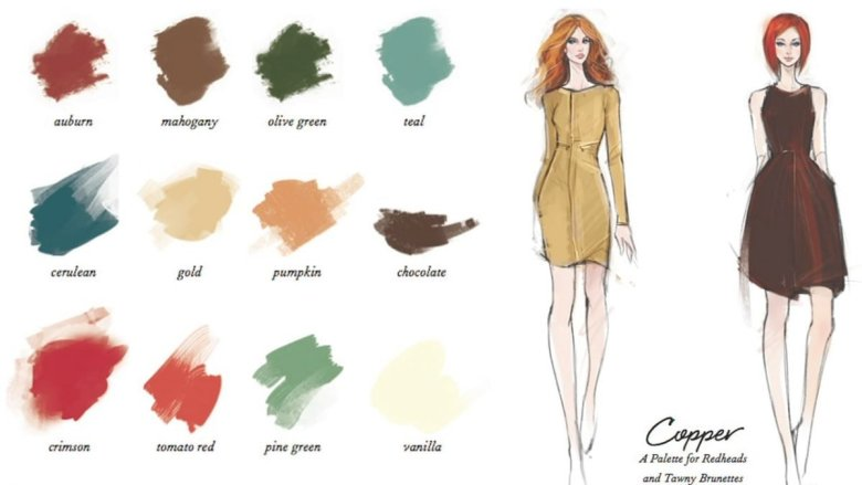 What colors look good on you featured by top Pittsburgh fashion blog, Wellesley & King: George Brescia colors