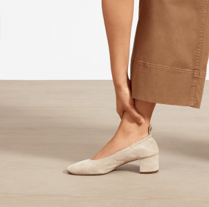 Top US fashion blogger, Wellesley & King, shares favorites by Ethical Fashion Brand Everlane: everlane day heel