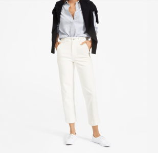 Top US fashion blogger, Wellesley & King, shares favorites by Ethical Fashion Brand Everlane: everlane straight leg crop