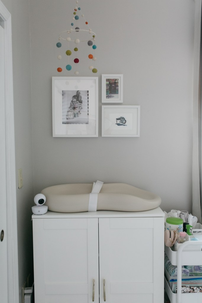 minimal nursery-wellesley and king blog-changing table