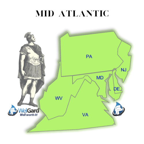 Mid Atlantic Coverage Map - WelGard