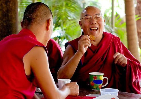 A serious Buddhist