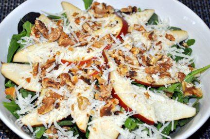 Health, Pear, Salad, Recipe, Diet, Food