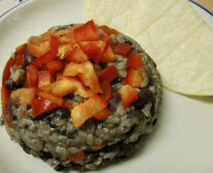 Weekly Recipe – Gallo Pinto w/Red Pepper