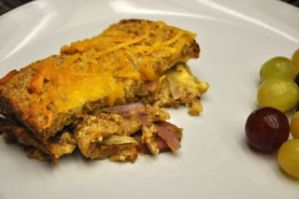 Healthy Recipe – Sausage and Onion Strata