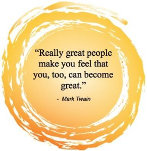 Monday Inspiration - Great People